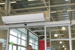 Преимущества воздушных завес Frico